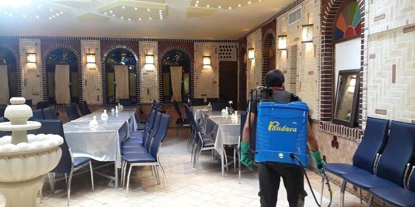 سمپاشی رستوران علیه حشرات و جوندگان