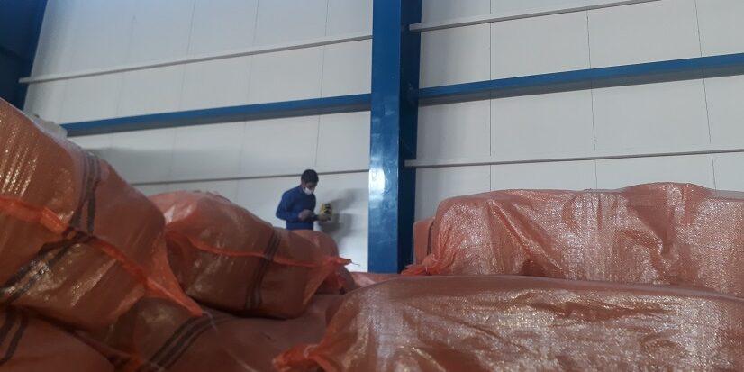 سمپاشی کارخانه